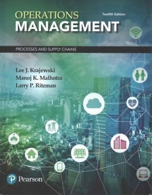 Operations Management: Processes and Supply Chains 12e Global Edition