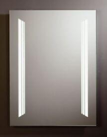 Tavistock Illuminated 'Contrast' Backlit Mirror 800 x 600mm Demister Pad SBL11