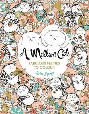 A Million Cats: Fabulous Felines to Colour, , New, Book