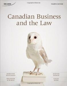 Canadian Business & the Law textbook - MSVU