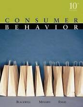 Consumer Behaviour - 10th Edn - Balckwell, Miniard & Engel Malvern Stonnington Area Preview