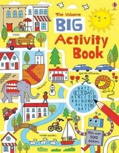 NEW Big Activity Book by Rebecca Gilpin