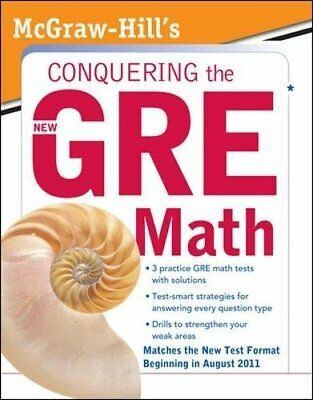 McGraw-Hill's Conquering the New GRE Math by  Moyer, Robert