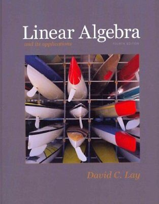 Linear Algebra and Its Applications with Student Study Guide (4th (Linear Algebra And Its Applications Study Guide)