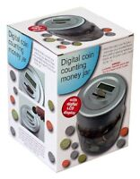 Digital Coin Counting Money Jar - NEW