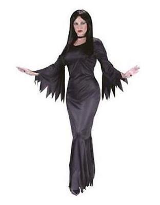 Madam Morticia Witch Vamp Adult Costume - - Madame Vamp Costume