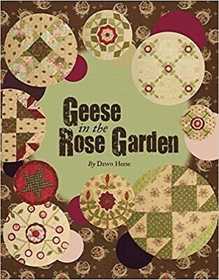 Geese in the Rose Garden, Heese, Dawn