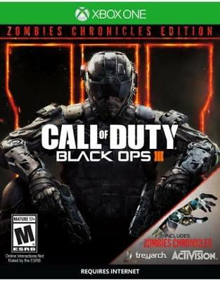 Call Of Duty: Black Ops 3 Zombie Chronicles Ed (Xbox