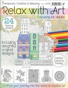 Relax with art colouring book for adults 3 brand new Colouring books for adults ebay