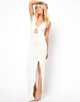 Love Maxi Dress With Twist Front and Cowl Back Cowl Front Jersey Dress