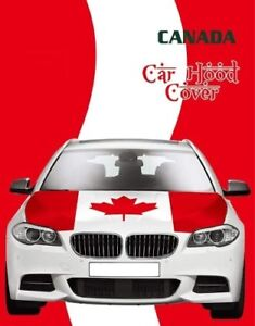CANADA FLAG FOR SALE - CANADA DAY 151 YEARS  - CAR HOOD FLAG