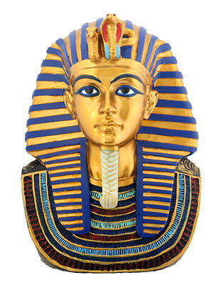 EGYPT MASK OF KING TUT FIGURINE BUST.ANCIENT EGYPTIAN STATUE. CUTE COLLECTIBLE