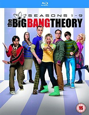 The Big Bang Theory Complete Set Season 1 9 1 2 3 4 5 6 7 8 9  Blu Ray  Box Set