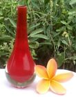 Red Retro Italian Art Glass