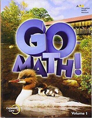 2nd Grade 2 Go Math Volume 1 Student Edition 2015 Common Core (Common Core 2nd Grade)