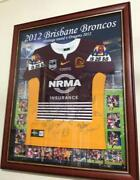 Broncos Signed Jersey