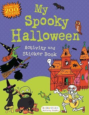 My Spooky Halloween Activity and Sticker Book (Sticker Activity Books) by Blooms](Halloween Activity Books)