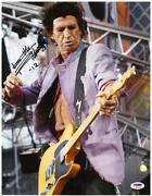 Keith Richards Signed