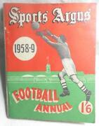 Vintage Football Annuals
