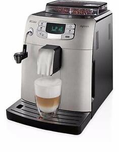 Machine à espresso Saeco Intelia Classic HD8752/87 Refurb - Espresso Machine Automatic Stainless Steel - BESTCOST.CA