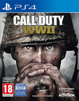 Call Of Duty World War 2 WWII PS4 Playstation 4 88108IT ACTIVISION...