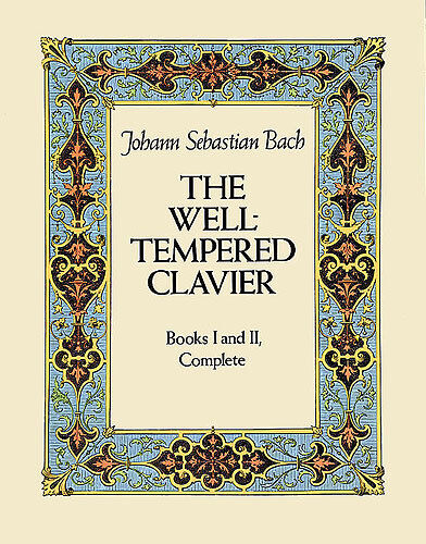 Bach The Well Tempered Clavier Learn to Play Classical Piano Music Book COMPLETE