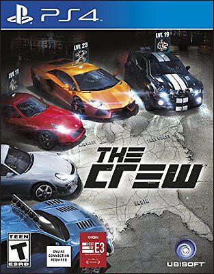 $33.12 - The Crew - PlayStation 4 Brand New Ps4 Games Sony Factory Sealed 2014