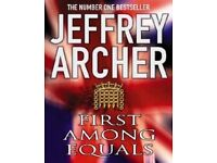 Jeffrey Archer-First Among Equals audio CD as NEW