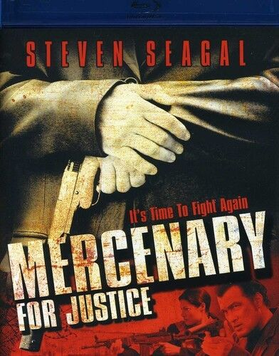 Mercenary for Justice (2012, Blu-ray NEW)
