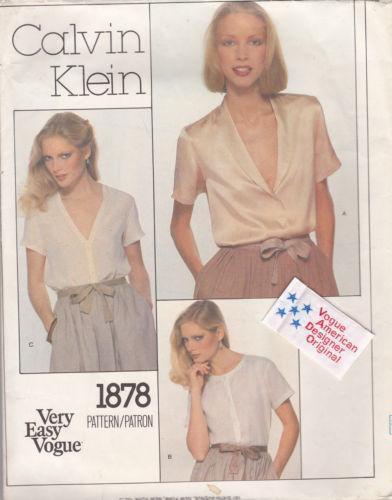 88a5160a6bf Calvin Klein Vogue Pattern