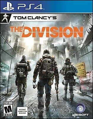 Tom Clancy's The Division - PlayStation 4 - Ps4 Games - Brand New Factory Sealed