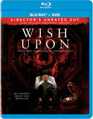 WISH UPON, BLU-RAY, 2017, SKU 1809 - Halloween Movie 2017 Music