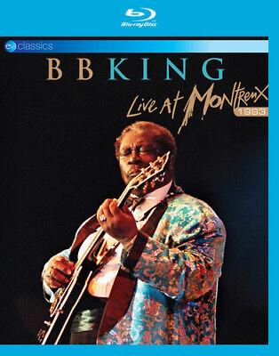 B.B. King: Live at Montreux 1993 Blu-Ray (2018) B.B. King cert E ***NEW***