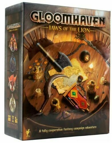 Gloomhaven: Jaws of the Lion Board Game NEW & SEALED