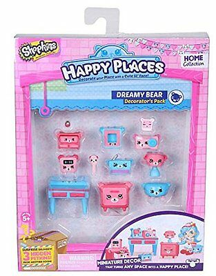 Happy Places Shopkins Decorator Pack Dreamy Bear