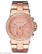 Michael Kors Rose Gold Ladies Watch