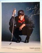 Tiger Woods Signed 8x10