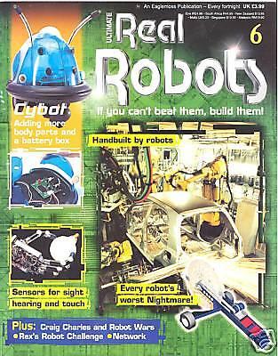 Ultimate Real Robots Magazine No.6 - Handbuilt by Robots segunda mano  Embacar hacia Spain