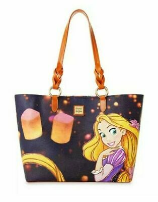 NWT Disney Parks Dooney & Bourke Tangled Rapunzel Tote Bag 10th Anniversary