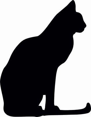 Katze14a ,Wandtattoo Cats 1 Aufkleber Auto Wand 20 cm