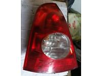 Renault Clio N/S Rear Light (2003)