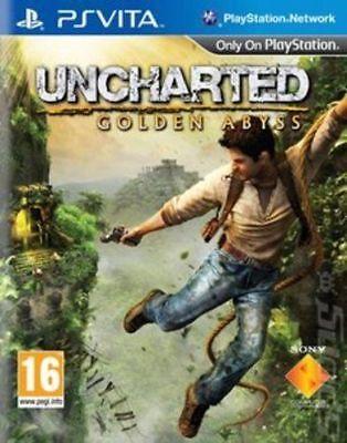 Uncharted: Golden Abyss (PS Vita Game) *VERY GOOD CONDITION* segunda mano  Embacar hacia Argentina