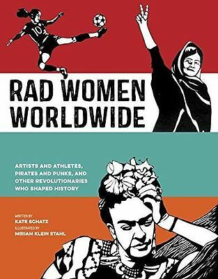 Rad Women Worldwide  Artists And Athletes  Pirates Hardcover