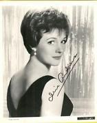 Julie Andrews Signed