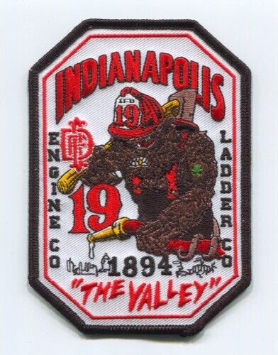 Indianapolis Fire Department Station 19 Patch Indiana IN