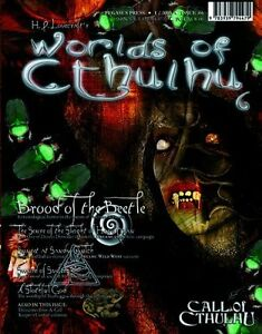 "Looking for issue 6 of ""Worlds of Cthulhu"""