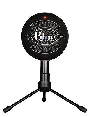 Blue Microphones Snowball Black iCE Condenser Microphone (Black)