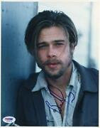 Brad Pitt Autograph