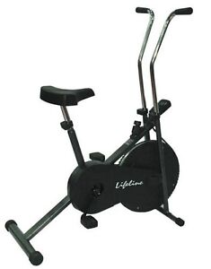 LIFELINE BODY EXERCISE HOME GYM FITNESS CARDIO CYCLE AIR BIKE ELECTRONIC DISPLAY available at Ebay for Rs.4426