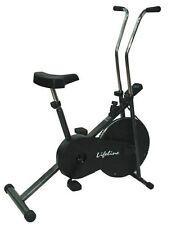Lifeline Branded 102 cycle home gym fitness cardio air bike with display *-